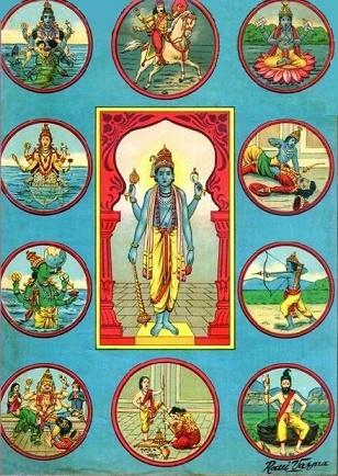Vishnu_Avatars